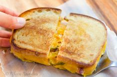 Bacon Cheddar Jalapeno Grilled Sandwich