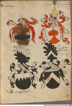 Tirol, Anton: Wappenbuch Süddeutschland, Ende 15. Jh. - 1540 Cod.icon. 310  Folio 122r