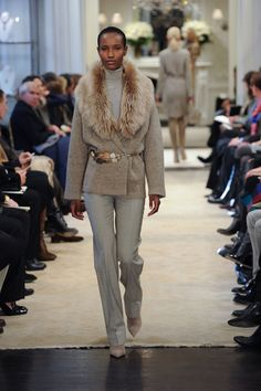 Soft and light simplicity from the Ralph Lauren Pre-Fall Collection 2014 show