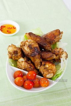椒鹽雞翼 【簡易小菜】 Salt And Pepper Chicken Wings Food Chicken