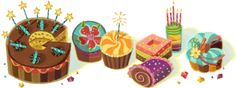 Happy Birthday Kathleen! This is on my Google home page. How cool is that!
