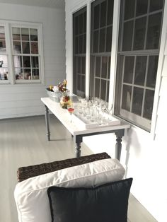 can this table be outside is it weather proof? Nantucket, Dining Bench, Weather, Furniture, Home Decor, Dining Room Bench, Decoration Home, Room Decor, Home Furnishings
