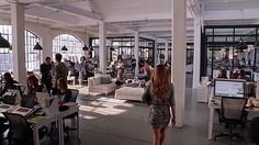 The Intern Film Locations - On the set of New York.com
