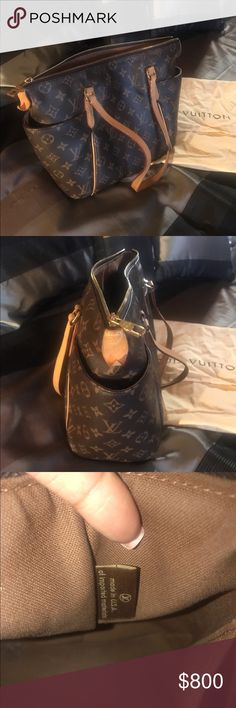 LV Totally PM Shoulder Bag My first LV Purchase! Excellent condition, I have outgrown it and need a larger bag. 😕 Very practical, can be carried anytime, anywhere! Louis Vuitton Bags Shoulder Bags