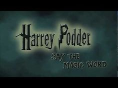 LOVE THIS!! A Dreamworks animator shows what would happen in Harry Potter's world if the spells didn't go as planned. Prepare to die of laughter. Very last word is the best(: