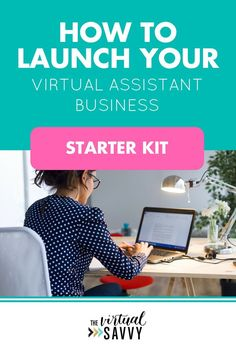 Learn exactly how to launch your virtual assistant business when you sign up for the Virtual Assistant Launch Checklist AND Starter Kit. This checklist contains the exact method that I took to go from $0 to 5k-10k months in my virtual assistant business i