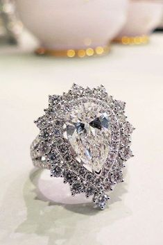 Almost like my wedding/engagement ring. My husband loves me, and I love him.