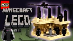 LEGO Minecraft The End Micro World Speed Build Minecraft Video Games, How To Play Minecraft, Lego Minecraft, Brick Building, Lego Brick, Toy Boxes, New Toys, Lego Sets, Best Gifts