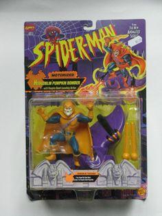 Hobgoblin Pumpkin Bomber, Motorized, Spider-Man Animated Series, Action Figure