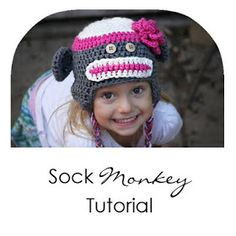 The three 'R's: Paper Dandelions Sock Monkey Hat