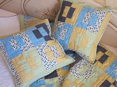 """Купить Комплект наволочек для подушек """"Мода"""". - пэчворк, детское одеяло, детский плед, детский коврик"""