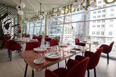 Mesas del restaurante Somos - Tables of restaurant Somos. Más info en www.madridcoolblog.com