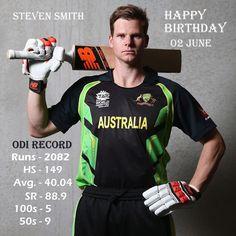 Happy Birthday to Australian Star batsman Steven Smith #Australia #Cricket #Cricketnews #IPL #HappyBirthday #StevenSmith