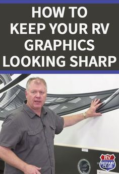When properly protected, RV graphics should maintain optimal appearance for roughly seven years. Depending on the type of travel for which you use your RV, that lifespan could be drastically shortened if you don't take precautions to keep them safe from t Rv Camping Checklist, Rv Camping Tips, Travel Trailer Camping, Rv Travel, Family Camping, Outdoor Camping, Camping Ideas, Camping Gadgets, Camping Products