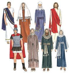 McCall& 2060 Sewing Pattern to make Adult Nativity or Passion Biblical Costumes