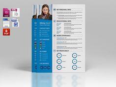 Resume Template With Cover Letter  Diy Custom Cv by sisresume