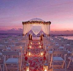 Casamento na praia dos sonhos