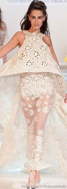 Georges Chakra Haute Couture | S/S 2013