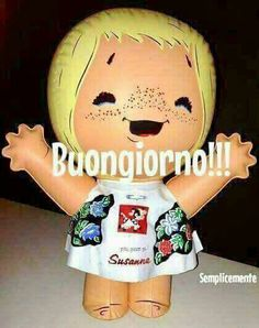 Good Morning Good Night, Day For Night, Good Morning Quotes, Italian Memes, Italian Posters, New Years Eve Party, Smiley, Nostalgia, Teddy Bear