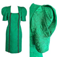 Patrick & # s Day Dress Gr. S – Mardi Gras St Patrick's Day Dress, St Patrick's Day Outfit, Outfit Of The Day, Mardi Gras Outfits, Mardi Gras Costumes, Mardi Gras Party, Dresses For Sale, Prom Dresses, Dress Sale