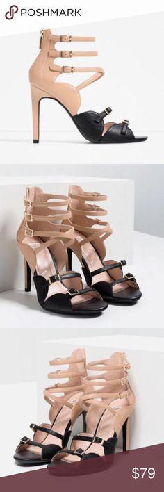Zara shoes New with tag. EUR 37 US 6.5 Fits size 6.5/7 Upper: 100% Polyurethane Lining: 60% Polyurethane 40% Polyester Zara Shoes