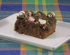 Six in the Suburbs: No Bake Rocky Road Brownies