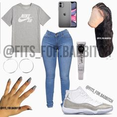 - Source by - Swag Outfits For Girls, Cute Swag Outfits, Teenage Girl Outfits, Cute Outfits For School, Teen Fashion Outfits, Teenager Outfits, Simple Outfits, Trendy Outfits, Girl Fashion