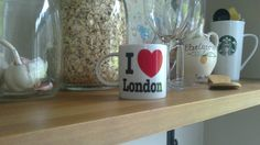 From London with love London, Mugs, Tableware, Home, Big Ben London, Dinnerware, Cups, Dishes, Ad Home