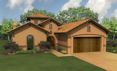 This 1 story Mediterranean features 2,568 sq feet. Call us at 866-214-2242 to talk to a House Plan Specialist about your future dream home!