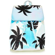 Palm Holographic Backpack by Skinnydip