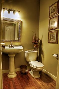 poder room makeover | All Rooms / Bath Photos / Powder Room