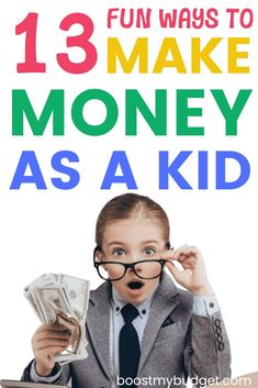13 fun and easy ways to make money for kids! Some classic job ideas for kids, and some you might not have heard of. Make £2000+ a month with number 9!! Ways To Get Money, Make Easy Money, How To Raise Money, Earn Money From Home, Make Money Online, Pet Sitting Jobs, Pocket Money, Number 9, Easy Jobs