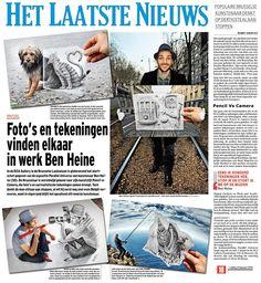 Ben Heine: Press