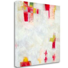 Tangletown Fine Art 'Tulipmania 6' by Ann Obrien Gonzalez Painting Print on Wrapped Canvas