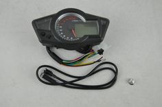 72.00$  Buy now - http://ali871.shopchina.info/go.php?t=1388408298 - Motorcycle LCD digital Odometer Speedometer Tachometer Motorcycle & Backlight 17' tires 72.00$ #bestbuy