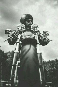 Spiegel CS3 f/ür Harley Softail Sport Glide//Springer//Standard//Street Bob
