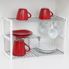 Organize o seu armário de cozinha com muita praticidade.