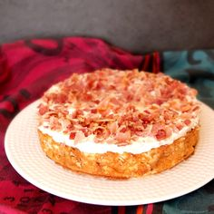 Bacon crumble cheesecake - lili's cakes #bacon #cheesecake
