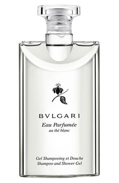 Bvlgari Perfumed Shampoo & Shower Gel in Eau Thé Blanc