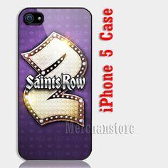 Saints Row 2 Custom iPhone 5 Case