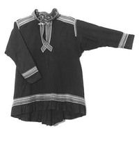 Miehen mekko, tummansinistä villagabardiinia. Polo Shirt, Culture, People, Mens Tops, Shirts, Fashion, Moda, Polos, Fashion Styles