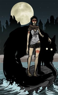 Princess Mononoke as a Horror Western by Jacquelin de Leon