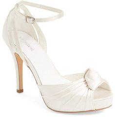 wholesale dealer a173d 33f17 Menbur  Angelica  Satin Bridal Sandal (Women)