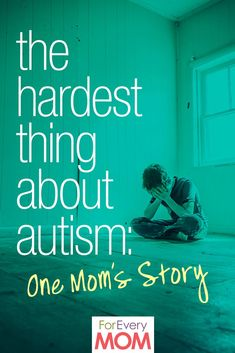 The hardest thing about autism for me as an autism parent. Great post about autism awareness and the things that autism parents may have to face as they raise their children.
