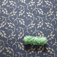 Pattern Paint Roller damask patterned paint roller no.29 frompatternpaintrollers