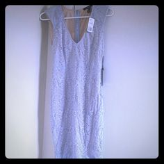 Forever 21 Dress - Nude & Periwinkle Knee length dress from Forever 21, size small! So beautiful but I have too many dresses and need to clean out my closet. The color is nude with periwinkle lace on top, brand new with all tags attached! Retails for $27.90. Feel free to let me know if you'd like additional pics. Forever 21 Dresses