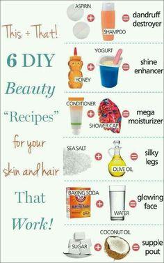 ❄6 DIY hair treatments that actually work! ❄#tipit #Beauty #Trusper #Tip