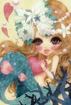 人魚姫と魔女【イラスト】 の画像|Kathmi's Pictures Blog