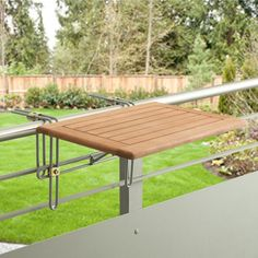 Garden Pleasure Balkon Hängetisch BERKELEY Eukalyptusholz klappbar