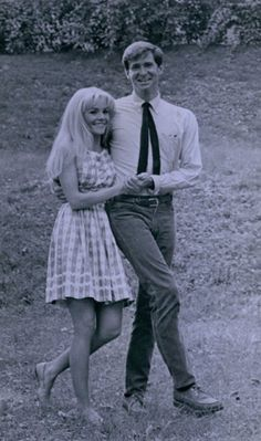"""Publicity portrait for """"Pretty Poison"""" (1968) with Anthony Perkins"""